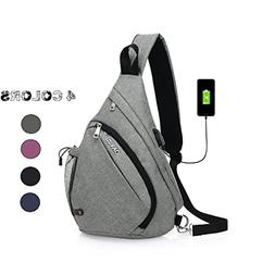 Chikencall Business Laptop Backpack with USB Charging Port T