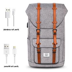 Wirarpa Vintage Laptop Backpack Fashion College School Style