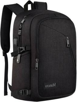 Mancro Business Laptop Backpack Slim Travel School Computer