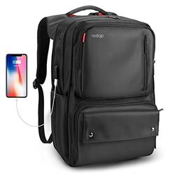 17.3 Inch Laptop Backpack, Apiker Travel Water Resistant Bus