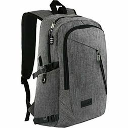 Mancro Business Water Resistant Polyester Laptop 17in Backpa