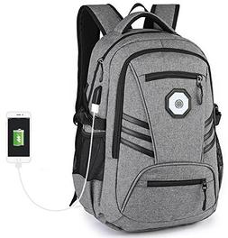 KOLAKO Business Water Resistant Polyester Laptop Backpack, C