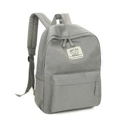 Canvas Laptop Backpack School Bag Teenage Leisure Casual Day