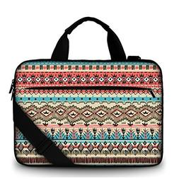 MySleeveDesign 17.3 Inch Canvas Laptop Carry Bag Notebook Ca