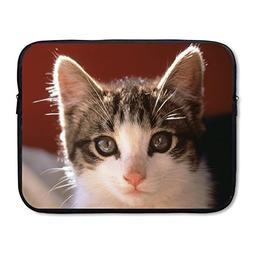 OUSIAI 15-15.6 Inch Cat Laptop Sleeve Bag for Acer Aspire, D