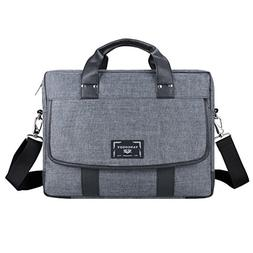 Vangoddy Chrono 17.3 Inch Grey Tote Messenger Carrying Bag f