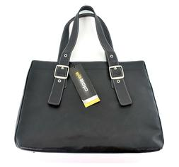"SOLO Classic 16"" Laptop Tote - Black Women's Business Bag NE"