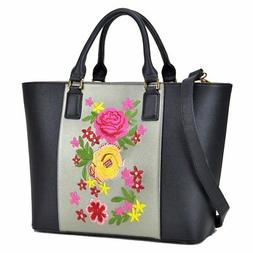 Dasein Classic Designer Flower Embroidery Collection Large L