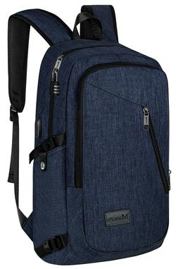 College Backpack, Business Slim Laptop Backpack, Anti theft