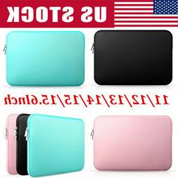 """11""""~15.6"""" Universal Laptop Sleeve Case Carry Bag for Macbook"""