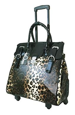 Trendy Flyer Computer/laptop Large Bag Tote Duffel Rolling 4