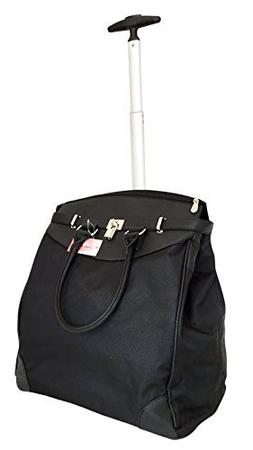 Trendy Flyer Computer/Laptop Rolling Bag 2 Wheel Case Plain