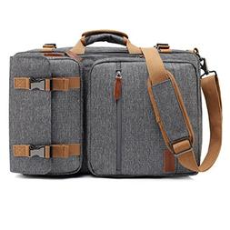 CoolBELL Convertible Briefcase Backpack Messenger Bag Should
