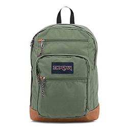 JanSport Cool Student Laptop Backpack - Muted Green