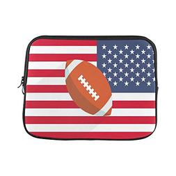 Design Custom Rugby American Football Ball with America Flag