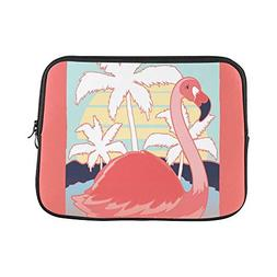 Design Custom Vector Design with Flamingo Drawn for Tee Prin