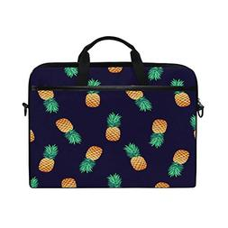 ALAZA Cute Tropical Pineapple Navy Blue 15 15.6 inch Laptop