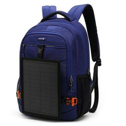 DTBG 5W OUTDOOR SOLAR PANEL CHARGE LAPTOP BAG BACKPACK ANTI-