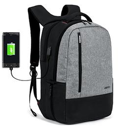 DTBG Water Resistant Laptop Backpack With USB Charging Port