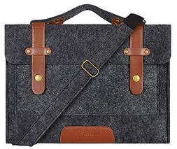 Mosiso Felt Laptop Shoulder Bag for 13-13.3 inch MacBook Air