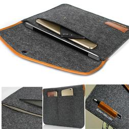 Felt Sleeve Laptop Case Cover Bag for Apple MacBook Air Pro