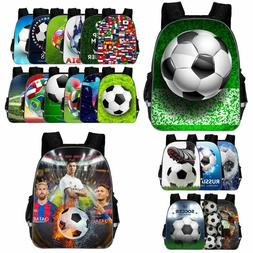 Football Sports Fans Backpack School Laptop Bag Travel Bags