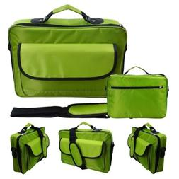 """Green Laptop Briefcase Bag for 10.1"""" 11.6"""" 12.5"""" 13.3"""" 14"""" N"""