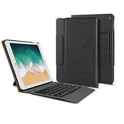 OMOTON New iPad 9.7 Inch 2017 Keyboard Case Cover, Ultra-thi