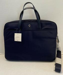 Kate Spade Dawn Laptop Bag Briefcase Black Nylon Crossbody W