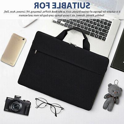 "13"" Sleeve Case Bag Waterproof Black"