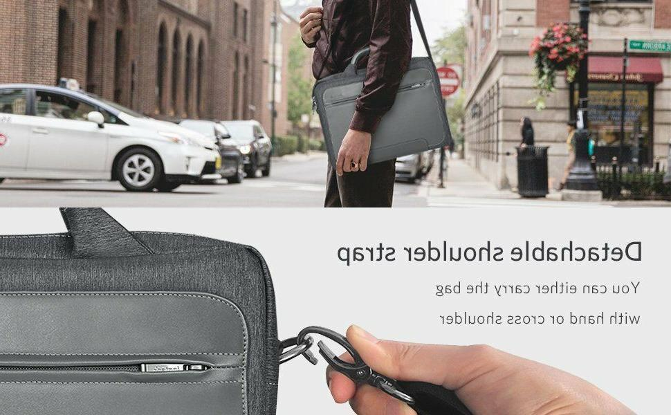Inateck Resistant Laptop PU Leather Gray