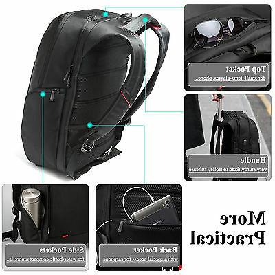 "DTBG 15.6""/17.3'' Nylon Carryiing Bag USB Port"