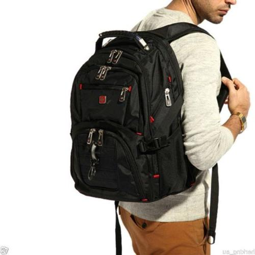 swiss gear waterproof travel bag laptop backpack