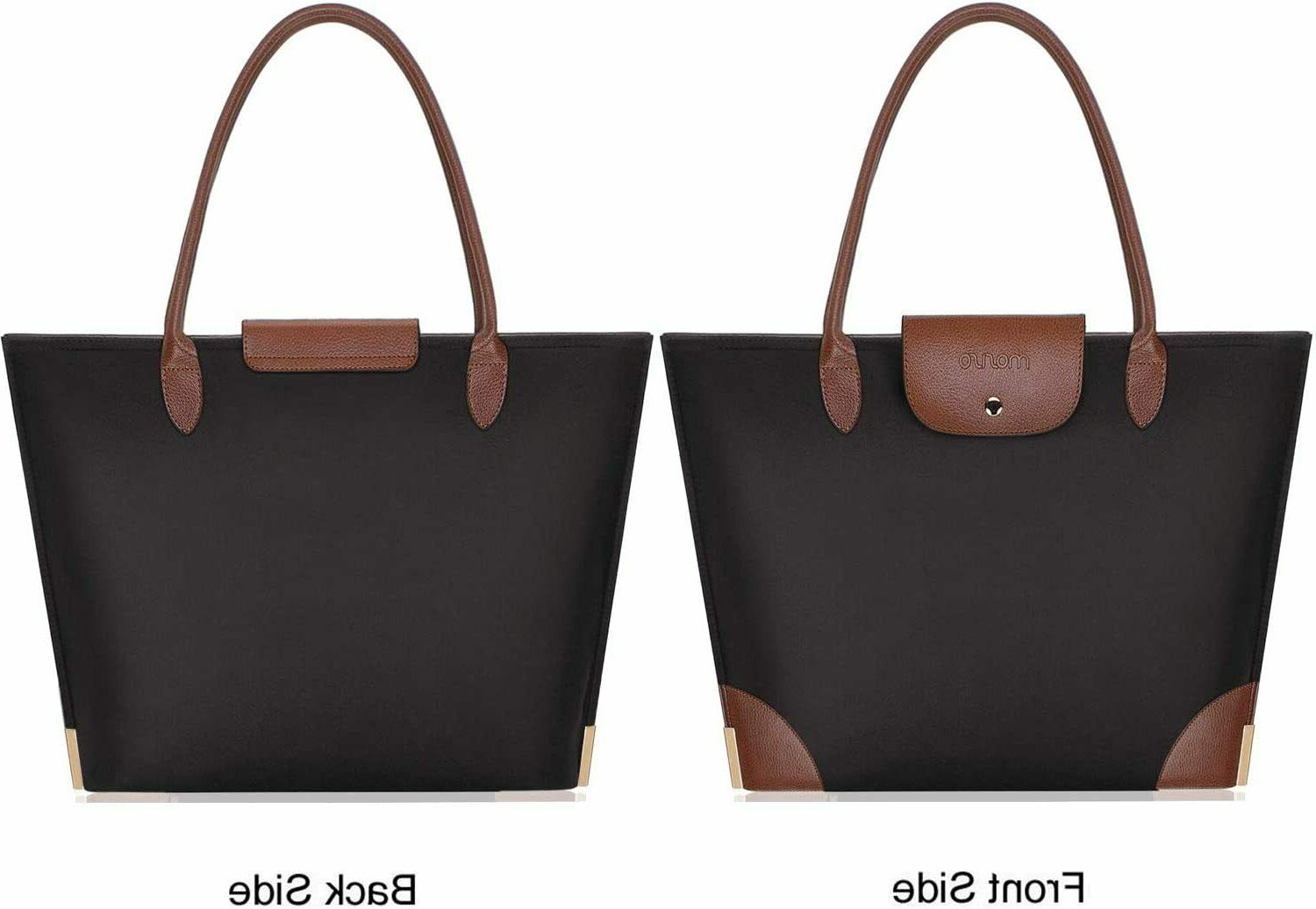 15.6 Inch Laptop Tote Bag Women Office Travel