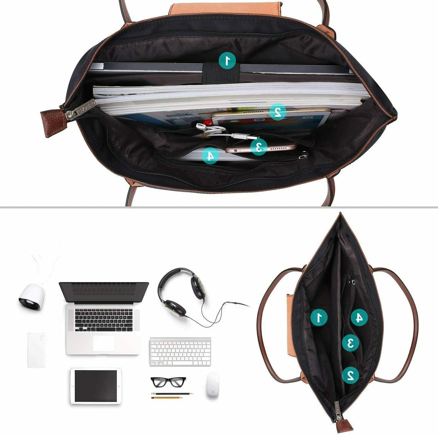 15.6 Laptop Bag for Office Travel Briefcase