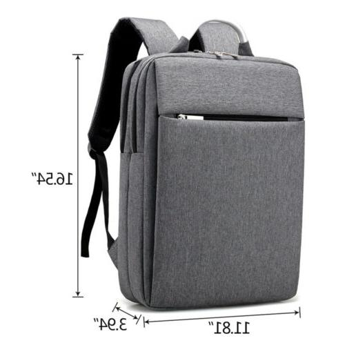 "15.6"" Men Waterproof Backpack Casual Travel"