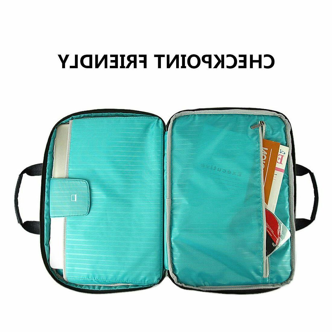 15.6Inch Travel Bag Briefcases Water Resistant, RFID Pocket,