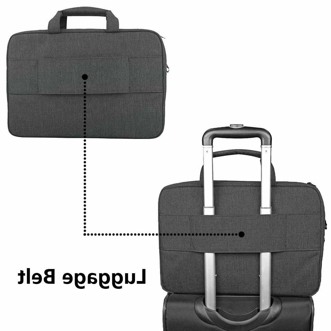 15.6Inch Laptop Travel Bag Briefcases Water Resistant, Pocket,