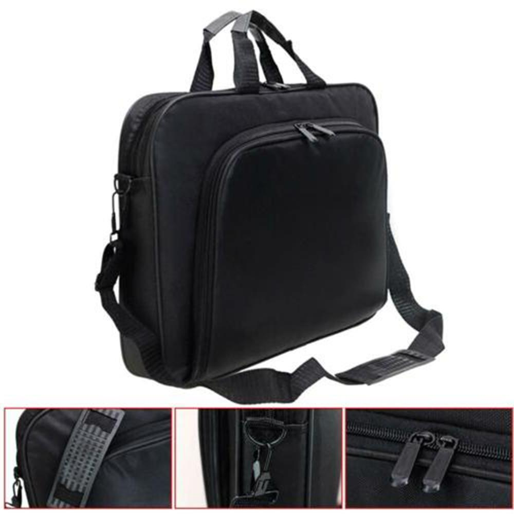 15 inch portable notebook handbag shoulder font