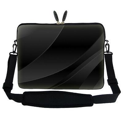 "17.3"" Laptop Computer Sleeve Case Bag w Hidden Handle & Shou"