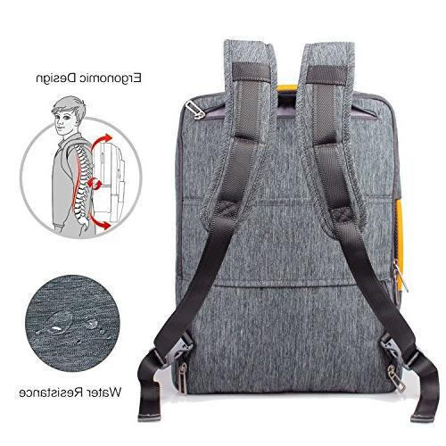 17.3 Backpack Resistant and Women, Backpack fit inch