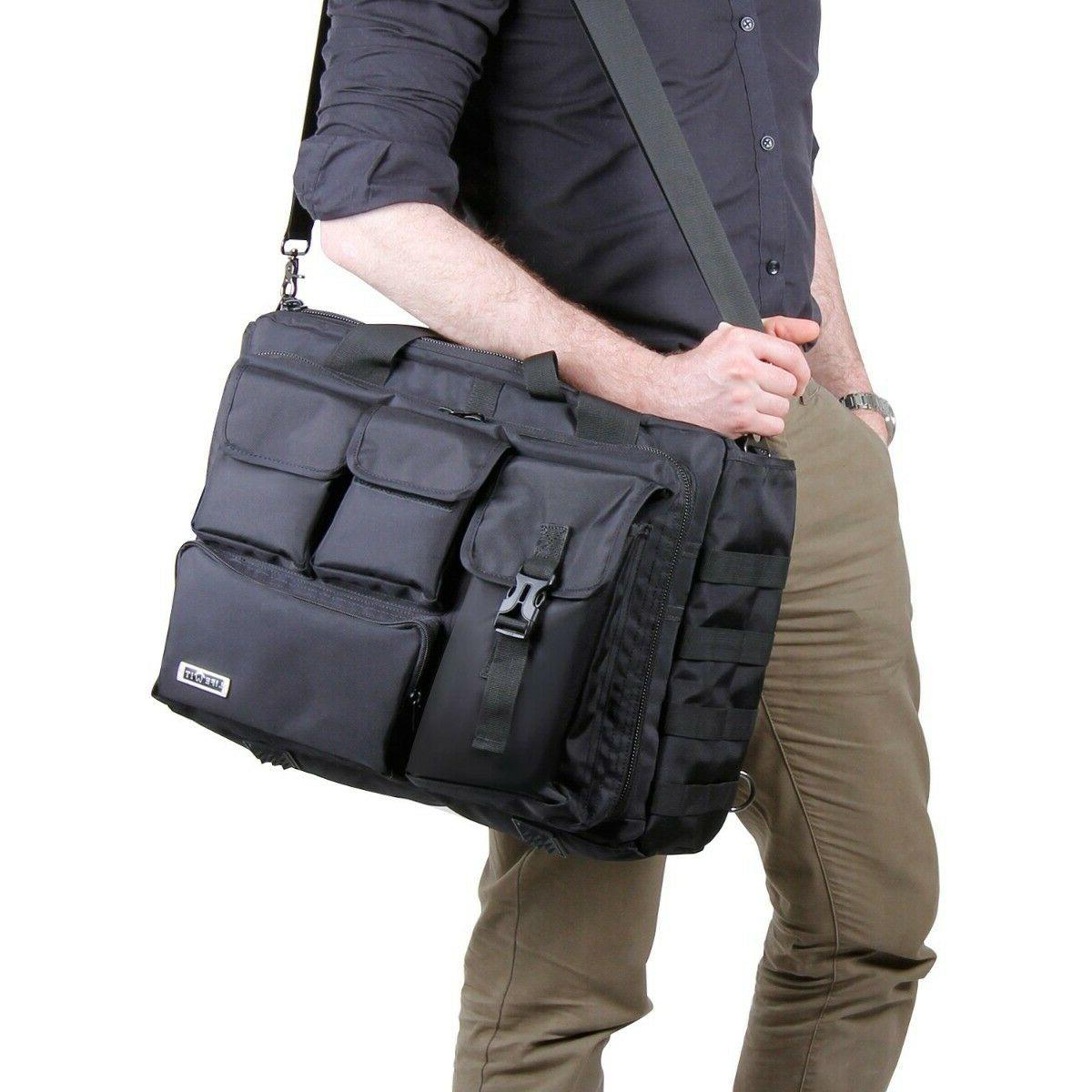 17.3 Laptop Multifunction Tactical Briefcase