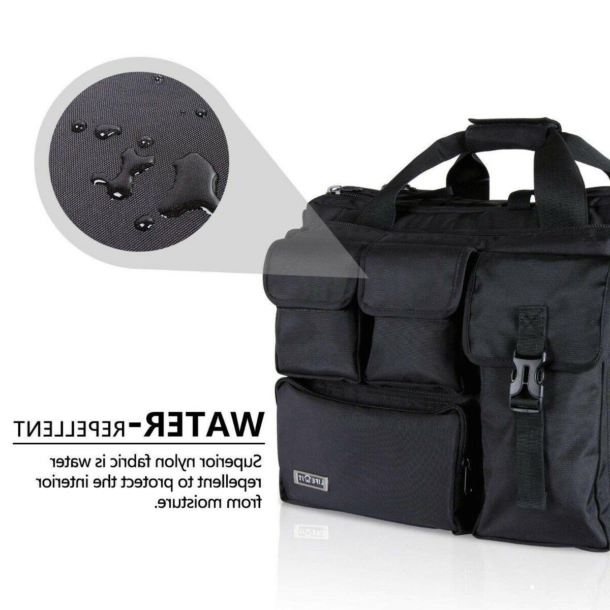17.3 inch Men's Military Laptop Bag Tactical Briefcase