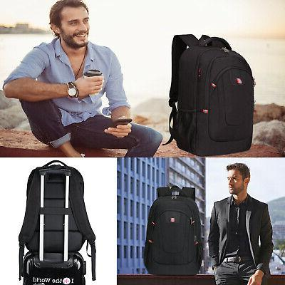 """17.3"""" Backpack Anti-Theft USB Travel"""