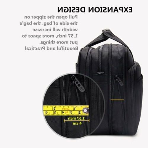 17 Expandable Capacity Business Briefcase, Bag