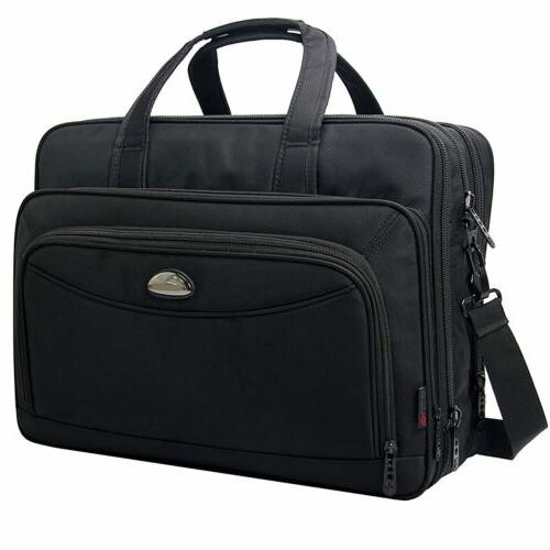 17 inch laptop bag expandable large capacity