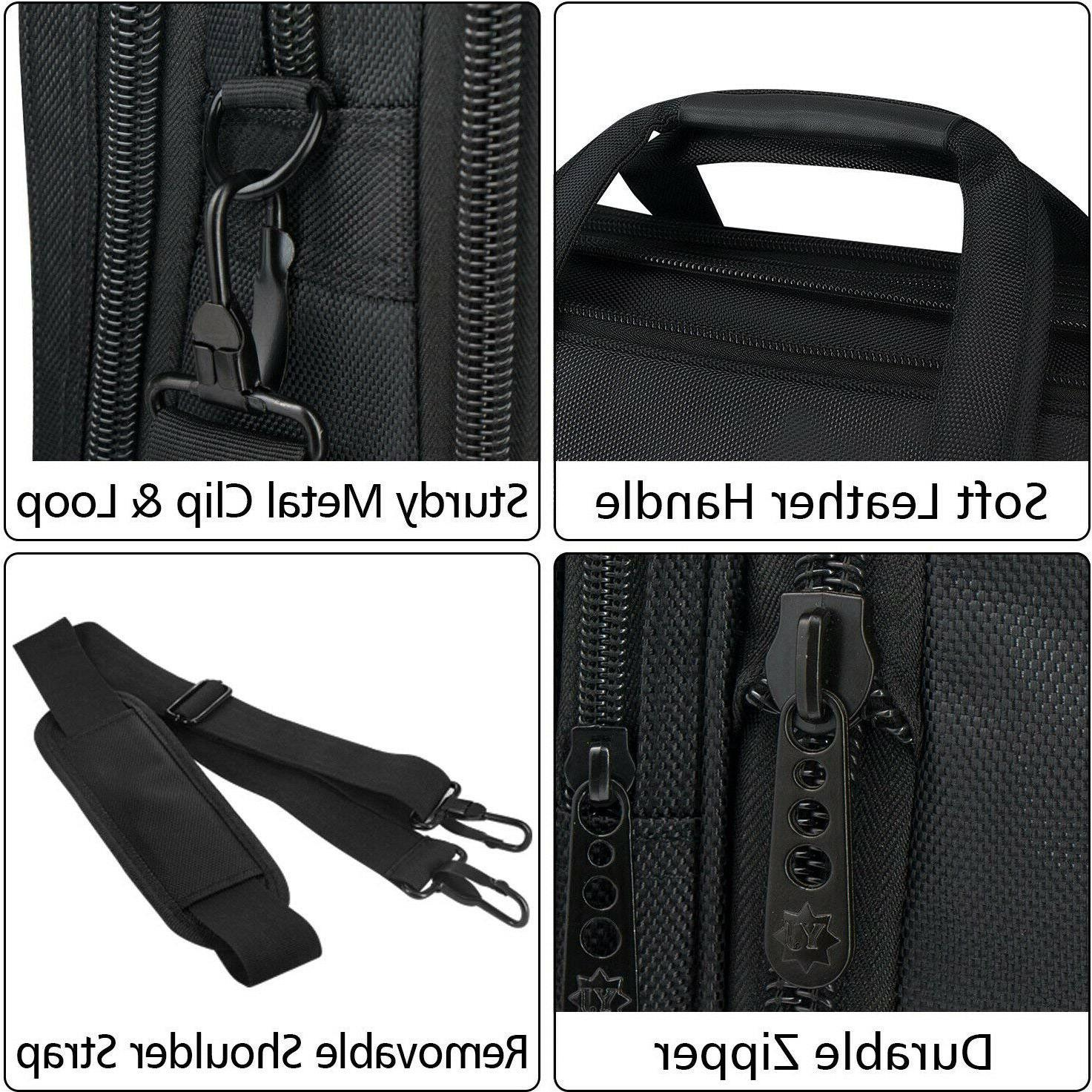 17 Bag, Large Briefcase Men Women, Expandable Attache,