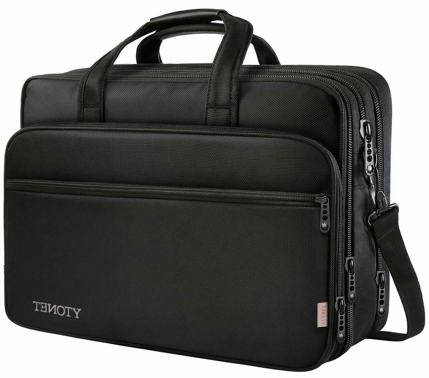 17 inch laptop bag travel briefcase