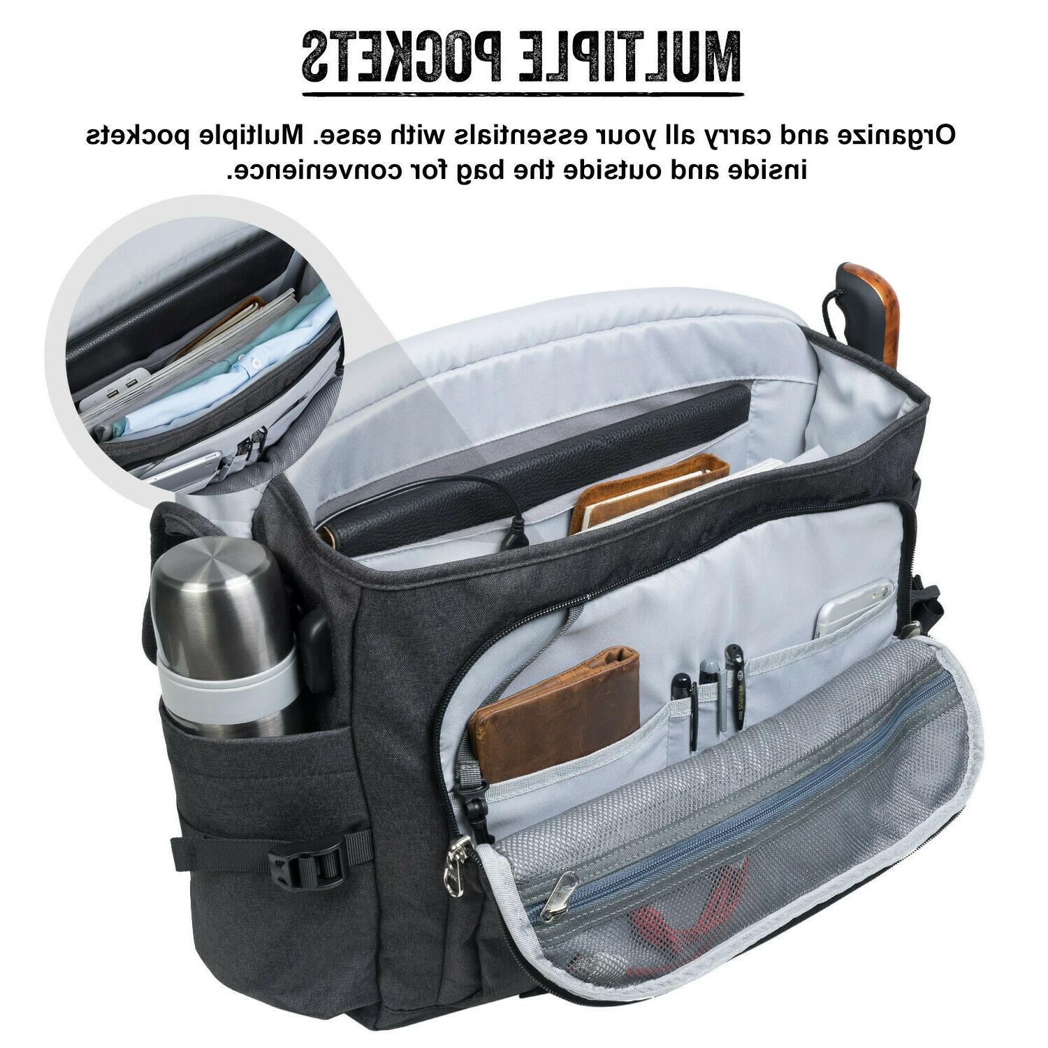 """NEW Laptop Backpack Notebook 17"""" Briefcase Business Bag"""