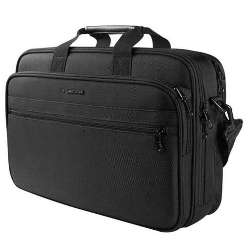17 laptop bag briefcase fits up to